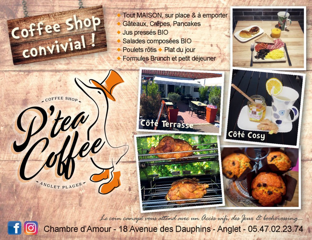 p'tea coffee shop convivial